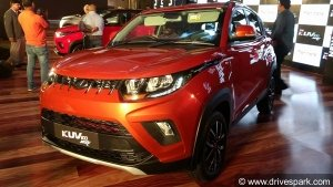 Mahindra To Introduce KUV100 Diesel-AMT — Launch Soon