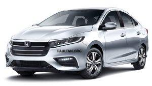 New 2020 Honda City Unofficial Renders Out — Mild-Hybrid Petrol Engine, BS-VI, Diesel-CVT & More