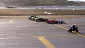 Drag Race: Kawasaki Ninja H2R Vs F1 Car Vs F-16 Fighter Jet — Place Your Bets!