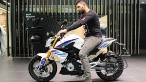 Yuvraj Singh's Latest Ride Is A BMW G 310 R