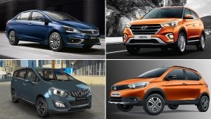 Car Sales Report September 2018: Only Maruti, Tata & Toyota Models Grow As The Best-Selling Cars