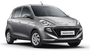 New Hyundai Santro AMT Interior Images Leaked Ahead Of Launch