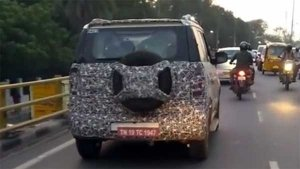 Mahindra TUV300 Facelift Spotted Testing In India — Gets Cosmetic Updates