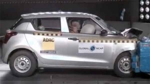 New Maruti Swift Global NCAP Crash Test Results Revealed — Gets Two-Star Safety Rating