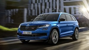 Skoda Kodiaq RS Revealed Ahead Of Paris Debut