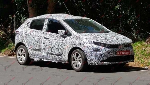Spy Pics: Tata 45X Premium Hatchback — The Spy Images Reveal Disc Brakes On All Wheels