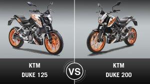 KTM Duke 125 Vs Duke 200 — A Brief Comparison