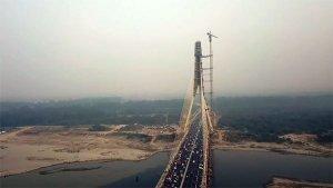 Signature Bridge In Delhi Finally Open: Here's A Cool Drone Video Of The Delhi Signature Bridge