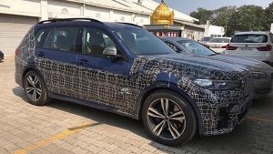 BMW X7 Spied In India For The First Time Ahead Of 2019 Launch