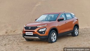 Tata Harrier Safety Features: It Even Gets 'Brake Disc Wiping'!