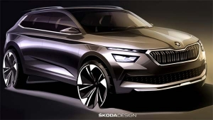 Skoda Kamiq Design Sketches Revealed — The New City SUV From Skoda