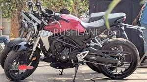 Honda CB300R Spotted In India Ahead Of Its Launch On 08 February 2019