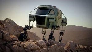 Hyundai Elevate Car Concept — A Car Which Can 'Walk' Through Rough Terrain!