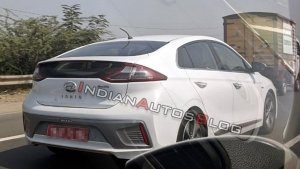 Hyundai Ioniq Electric Spied Testing In India — Will It Launch In India?