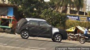 New Hyundai Compact-SUV's Spy Pics Prove That It Looks A Lot Similar To The Creta