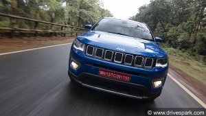 Jeep Compass Longitude (O) Now Available In Petrol-Automatic Variant — Priced At Rs 18.9 Lakhs