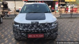 Spy Pics: Jeep Compass Trailhawk Spotted Testing