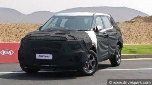 New Kia SP2i SUV Showcased — Trial Production Starts At Kia Motors India's Anantapur Plant
