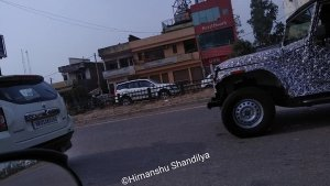 New Mahindra Thar Model (2020) Spied In Punjab — Check Out The Latest Spy Pics