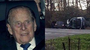 Prince Philip's Land Rover Freelander 2 Flips Over In Car Accident; No Injuries Reported