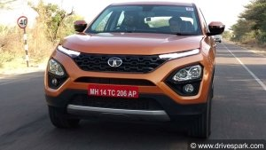 Tata Harrier Starts Arriving At Dealerships Ahead Of January Launch