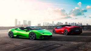 Lamborghini Huracan Evo Spyder Revealed Ahead Of Geneva Motor Show Debut