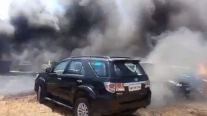 Bangalore Air Show Fire Accident — Toyota Lends Its Support To The Affected Cars