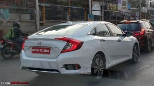 New Honda Civic Spied Undisguised In India — Launch And Deliveries Confirmed For March 2019