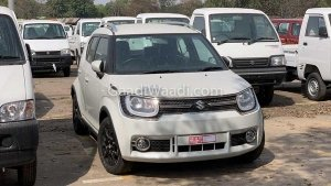Maruti Ignis Facelift (2019) Spotted At Dealership — Launch Expected Soon