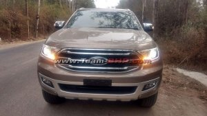 New Ford Endeavour Facelift Spied Ahead Of Launch — Exterior And Interior Updates Revealed