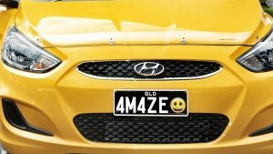 Number Plates With Emojis In Australia: New Personalised Number Plates In Queensland
