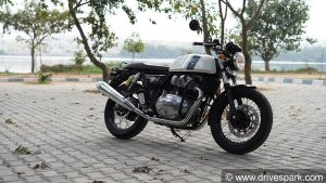 Royal Enfield Continental GT 650's Custom Exhaust Sounds Awesome — Check Out The Video
