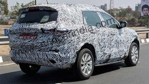 Tata Harrier Seven-Seater 'H7X' Spied Testing — Might Be Introduced With AMT Gearbox