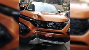 Tata Harrier's First Crash Happens In Mumbai — No Casualties Involved