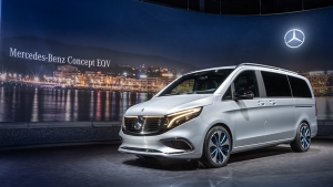 2019 Geneva Motor Show: Mercedes Concept EQV Revealed