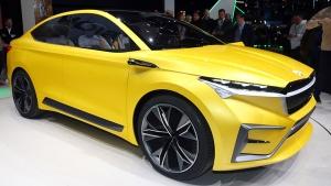 2019 Geneva Motor Show: Skoda Vision iV Concept Unveiled