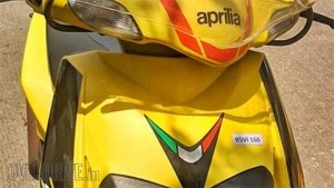 2020 Aprilia SR 125 Spotted Testing With Fuel-Injection & BS-VI Compliance