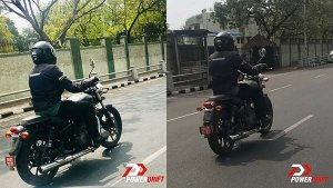 Spy Pics: 2020 Royal Enfield Thunderbird X Spotted Testing — New Features Galore