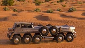 35-ft Long Dhabiyan Is The World's Largest SUV