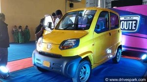 Bajaj Qute Launched In India At Rs 2.63 Lakh — A Quadricycle Threat To Small Cars?