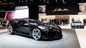 2019 Geneva Motor Show: Bugatti La Voiture Noire Revealed — The World's Most Expensive Car