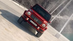 G-Wagen Induces Dizziness With Dam Driving Antics — Did Merc Just Invent Anti-Grav For Cars?