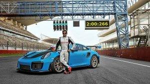 Porsche 911 GT2 RS Becomes Fastest Street-Legal Car At Buddh International Circuit