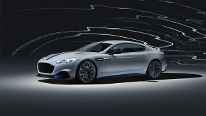 Aston Martin Rapide E Revealed at Shanghai Motor Show