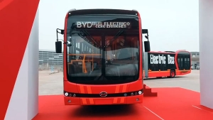 BYD K12A Unveiled — The World's Longest Pure Electric Bus