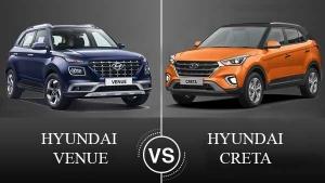 Hyundai Venue Vs Hyundai Creta — The New Takes On The Proven!