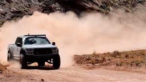 Ken Block Drifting A Modified Ford Raptor At Moab Is The Coolest Thing You'll See Today