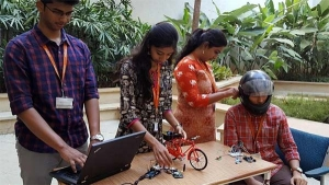 Students Invent Tech To Prevent Bikes From Starting If Rider Is Drunk Or Not Wearing Helmet