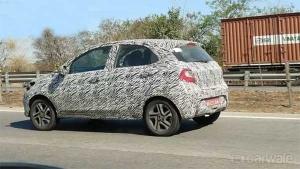 Spy Pics: 2020 Tata Tiago Facelift Spotted Testing