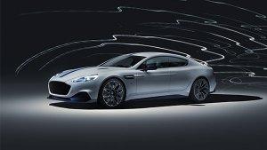Aston Martin Rapide E Revealed at Shanghai Motor Show